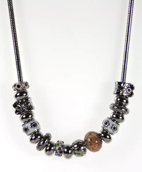 white bead necklace uk white pandora style bead necklace indulgence jewellery
