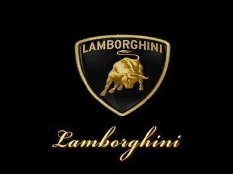 logo lamborghini 3d lamborghini logo animation 3d max youtube