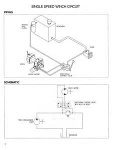 hydraulic winch schematics get free image about wiring diagram