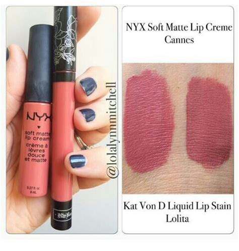 Lipstik Nyx Di Sephora amazing dupe for the d liquid lip stain in gotta it thanks to lolalynn