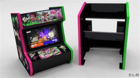 415 Best Arcade Projects Images On Pinterest Cave Caves And Game Room Nintendo Switch Arcade Cabinet Template