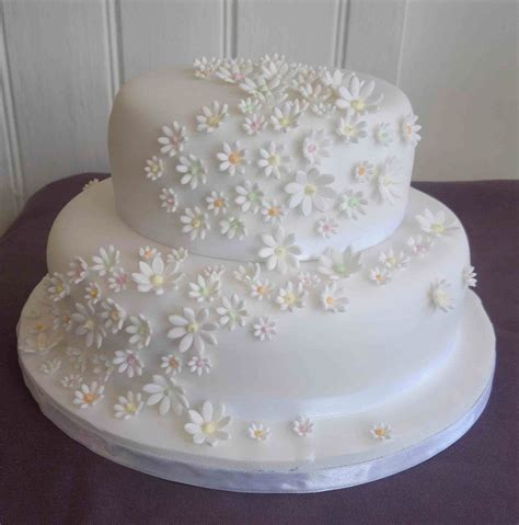 Wedding Cakes Small Simple by New S Simple Two Tier Wedding Cake To Slice Small