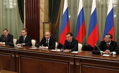 Cabinet Member by Meeting With Cabinet Members President Of Russia