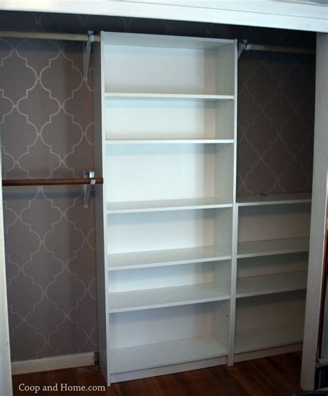 Bookcase In Closet by Best 25 Closet Hack Ideas On