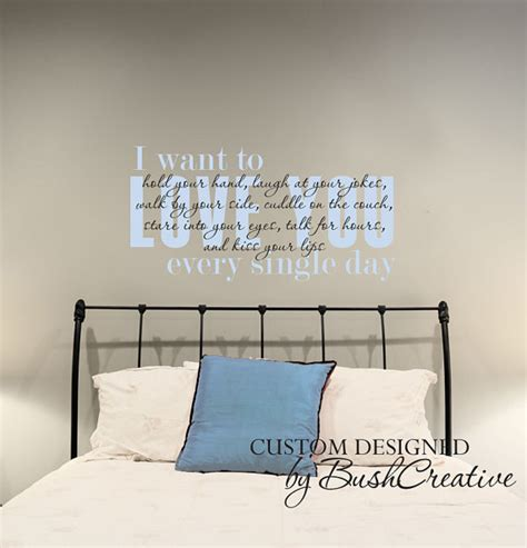 wall decals for master bedroom items similar to wall decal i love you master bedroom