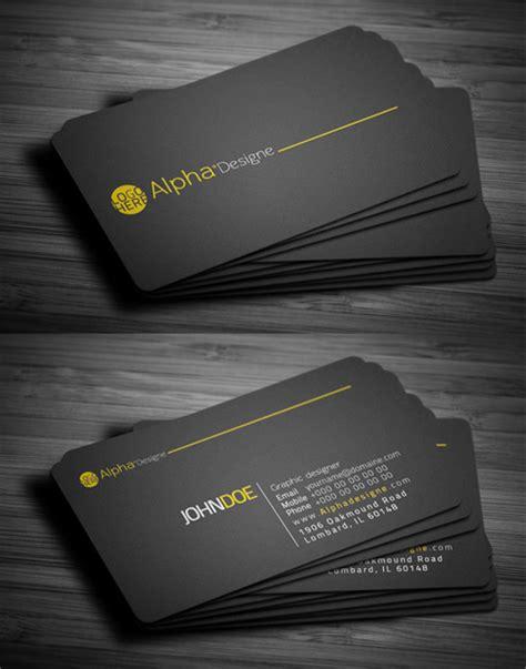 modern cards modern business cards design 25 fresh exles design
