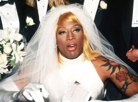 Dennis Rodman Cross Dresser by Dennis Rodman The Madonna S Loved Popsugar