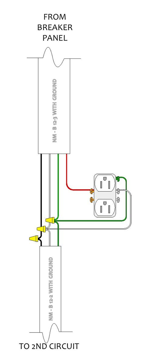 electrical wiring diagrams 3 wire romex electrical get