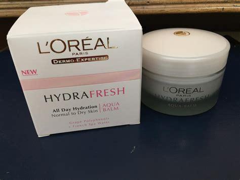 l oreal hydration aqua essence100101010101000100100 loreal hydra fresh aqua balm reviews makeupera