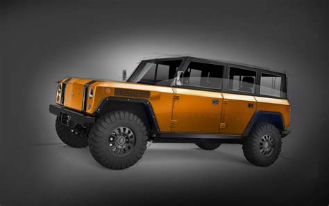 bollinger b1 bollinger b1 electric 4x4 four door gets a stretched