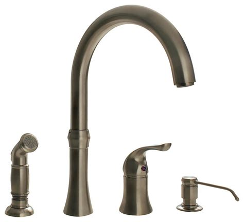 traditional kitchen faucets brushed nickel 4 kitchen faucet traditional kitchen faucets by mr direct sinks and