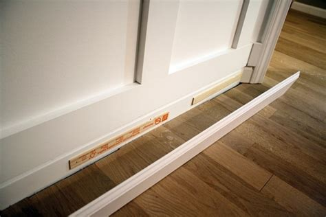 how tall should baseboards be adding tall baseboards home improvement projects pinterest