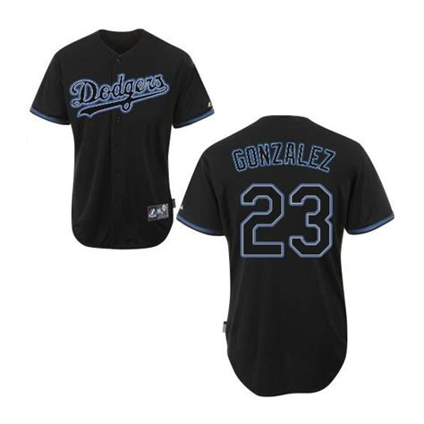 los angeles dodgers adrian gonzalez official black authentic mens majestic fashion mlb mlb jersey