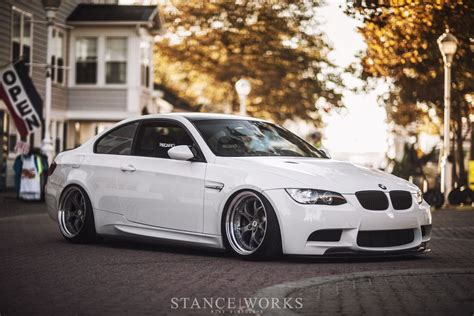 bmw m3 slammed bmw m3 e92 coupe white slammed vehicles