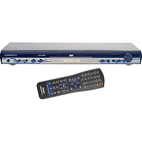 multi format dvd player with usb used vocopro dvx 668k multi format usb dvd cd g dvx 668k b h