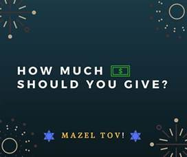 how much should you give for a wedding bar bat mitzvah gift amount how much money should you