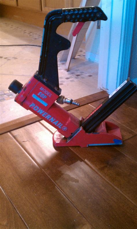 Engineered Flooring Stapler Engineered Flooring Stapler Bostitch Ehf1838k 18 Engineered Hardwood Flooring Stapler