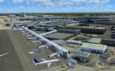 pier a terminal review of uk2000 scenery heathrow xtreme v3 for fsx