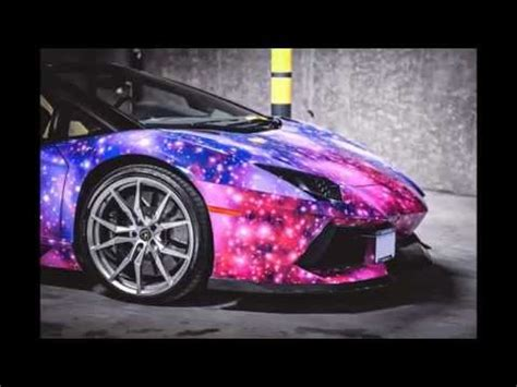 Lamborghini Aventador Roadster Galaxy Wrap   YouTube