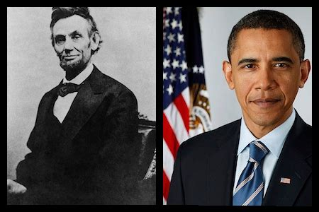 abraham lincoln and barack obama what are the similarities and differences between abraham