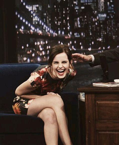emma watson laughing emma watson image 3397468 by loren on favim com