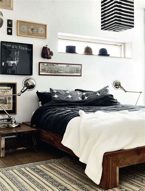 black pattern bedding 35 awesome bedding ideas for masculine bedrooms digsdigs