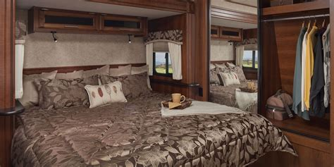 in the bedroom trailer 2016 eagle luxury travel trailers jayco inc