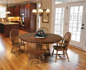 Country Style Dining Room Table Solid Oak Country Style Dining Room Set Hutch Table And 6 Chairs