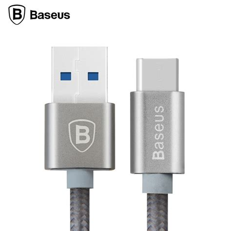 baseus aluminium usb type c to usb 3 0 1 meter gray jakartanotebook