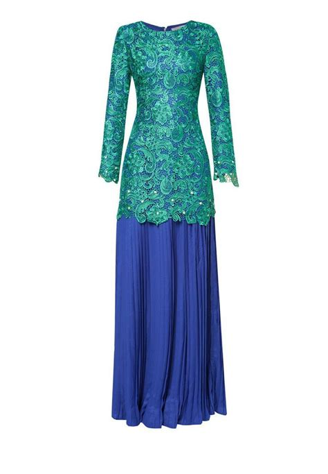 Baju Anjing Ribbon Lace Dress Blue 17 Best Images About Songket Lace On Muslim