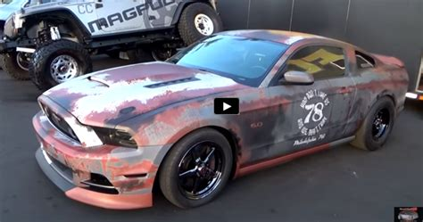 mustang customs cool ford mustang gt drag car quot weathered wrap quot cars