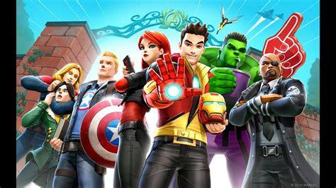 marvel avengers academy launch trailer youtube
