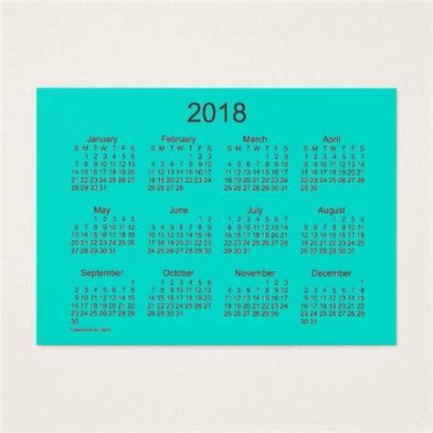 business card calendar template 2018 1000 ideas about calendar 2018 on printable