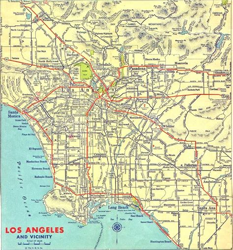 map los angeles los angeles california map pictures to pin on pinsdaddy