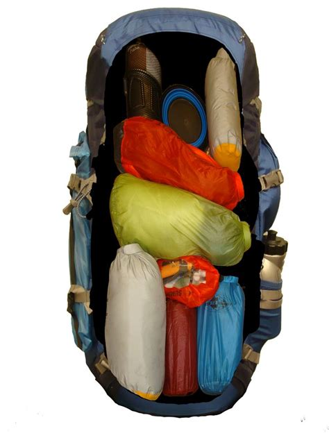 backpacking 01 gear list semi ultralight modular packing in your backpack sacks bags and backpacking