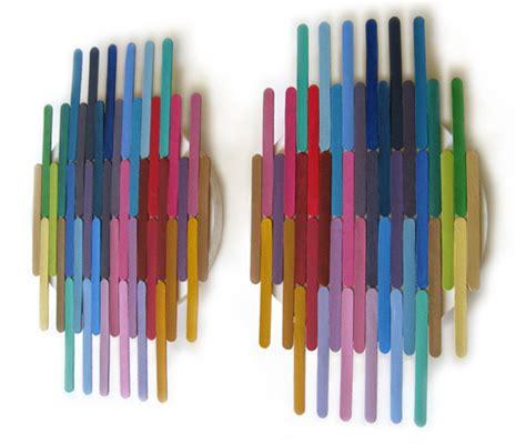 Oh Joy Furniture Bluebird Hill Popsicle Stick Art