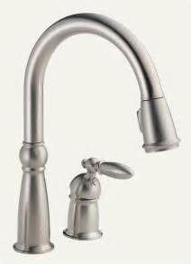 single kitchen faucets delta 955 ss dst single handle pull kitchen