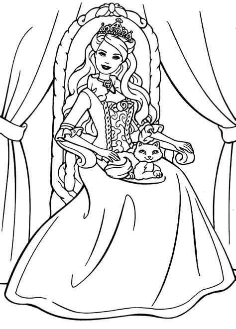 generic princess coloring pages prenses boyama minik dahilerim