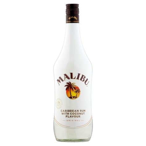 price of a bottle of malibu morrisons malibu caribbean rum 1l product information