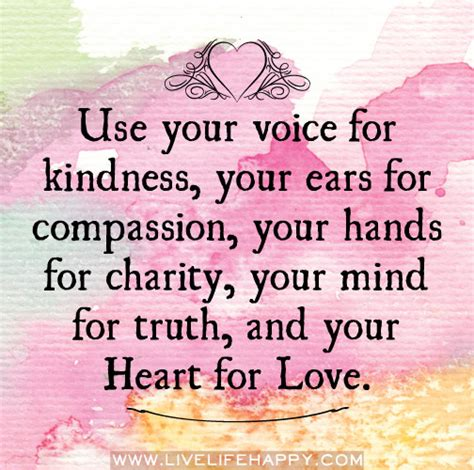 Compassion New use your voice for kindness use your voice for kindness your ears for compassion your