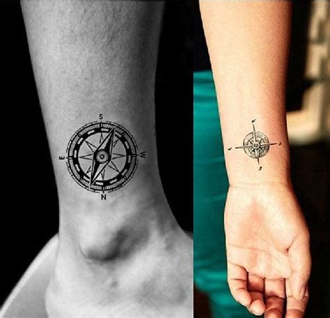 compass tattoo temporary vintage compass temporary tattoo by lovetatoo on etsy 10
