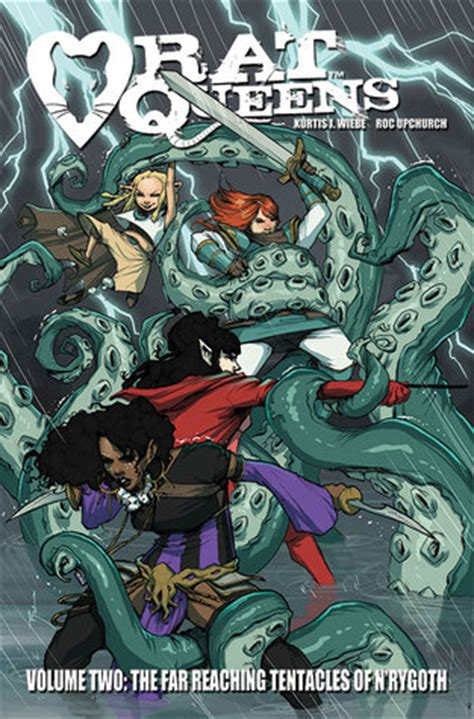 rat queens volume 2 1632150409 comically rat queens volume 2 the far reaching tentacles of n rygoth review kurtis wiebe