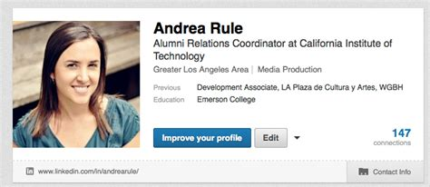 Top Mba Student Profiles by Linkedin Tips For Creating Your Profile Caltech Alumni