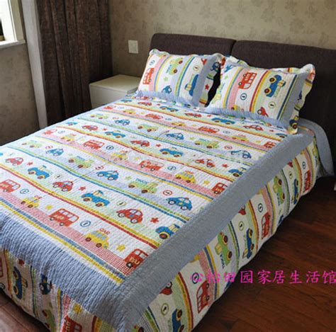 Boys Patchwork Bedding - free shipping discount car truck boys bedding