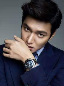 Guy candy more photos of lee min ho as perfect watch model