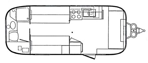 vintage travel trailer floor plans 98 best images about vintage travel trailers airstream