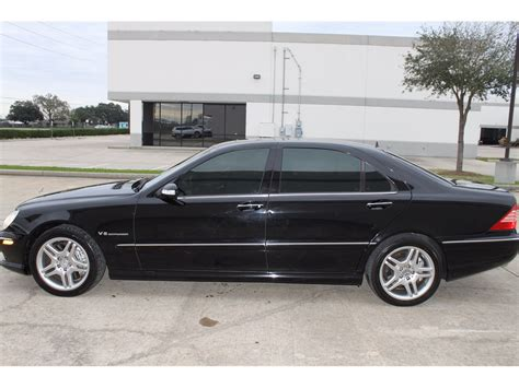 black mercedes s55 amg 2003 mercedes s55 amg v8 5 5l charged