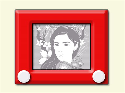 Etch A Sketches by How To Master The Etch A Sketch 9 Steps With Pictures