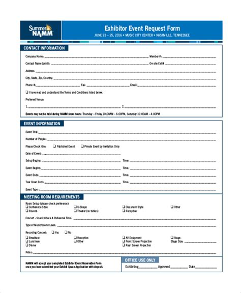 event form template event request form template pictures to pin on