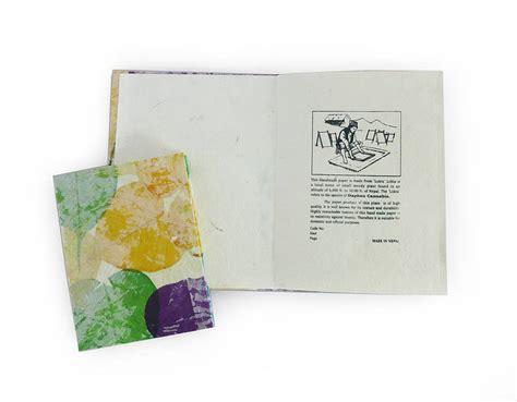 Handmade Paper Notebook - handmade lokta paper notebook by aura que